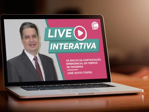Live: os riscos da contratação emergencial durante a pandemia