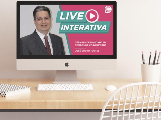 Término de mandato em tempo de coronavírus: live do Cigep garante capacitação gratuita